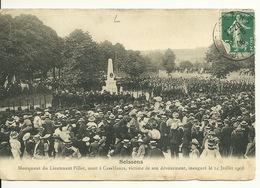 02 - SOISSONS / INAUGURATION Du MONUMENT DU LIEUTENANT PILLOT MORT A CASABLANCA - Soissons
