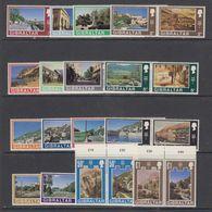 Gibraltar 1971 Definitives / Landscapes 32v  ** Mnh (44018) - Gibraltar