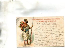 ALGERIE(TYPE) KABYLE(PUBLICITE CHICOREE) - Escenas & Tipos