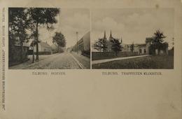 Tilburg (N-Br.) Hoeven - Trappisten Klooster 1907 Uitg. Til. Stoomdukkerij Louis Dusee - Tilburg