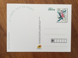 "CARTE POSTALE PRE TIMBREE FETE DU TIMBRE 2016 ""LE TIMBRE FAIT SA DANSE"" - Neuf - Postal Stamped Stationery"