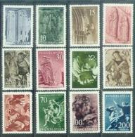 YU 1956-776-87 ARTS, YUGOSLAVIA, 12v, MNH, ** - Neufs