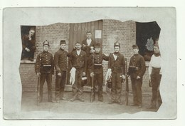 Kamp Van Beverloo - Groep Militairen  - Fotokaart ( 2 Scans) - Militares