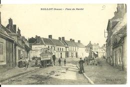 80 - ROLLOT / PLACE DU MARCHE - Otros Municipios