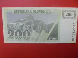 SLOVENIE 200 TOLARJEV 1990  CIRCULER (B.5) - Slovénie