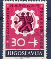 YU 1956-790 10A°TECHNIK, YUGOSLAVIA, 1 X 1v, MNH - 1945-1992 Sozialistische Föderative Republik Jugoslawien