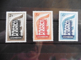 Europa Cept 1956; Luxemburg; Satz; Postfrisch**, Mnh - Europa-CEPT