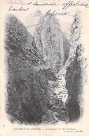Algérie - CHABET EL AHKRA Les Gorges, Le Dra Kalaoui  (Bougie ) ETAT= Voir Description -  Année:1904 -ND Phot  N° 13 - - Bejaia (Bougie)