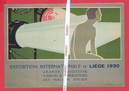 Exposition Internationale De LIEGE  1930  -  Grande Industrie - Sciences & Applications - Art Wallon Ancien (Phare) - Expositions