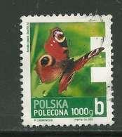 Pologne 2013 (o) Rusalka Pawik Papillon - Used Stamps
