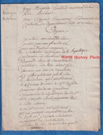 Document De 1795 Ou 1797 - BECHEREL Ille Et Vilaine - Marchand De Bois Jean Baptiste GUILLARD Réquisition - Bretagne - Documenti