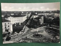 Cartolina Abano Terme - Padova - Piazza Fontana E  Viale Mazzini - 1968 - Padova