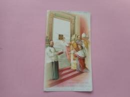 DEVOTIE-SA SAINTITE LEON XIII  ---LA PORTE SAINTE DANS LA BASILIQUE DU VATICAN LE 24-12-1899 - Religione & Esoterismo