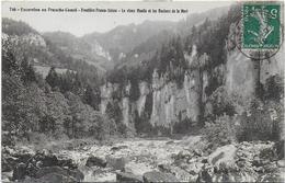 CPA - EXCURSION EN FRANCHE COMTE - FRONTIERE FRANCO SUISSE - LE VIEUX MOULIN ET LES ROCHERS DE LA MORT - N°746 - 1912 - Other Municipalities