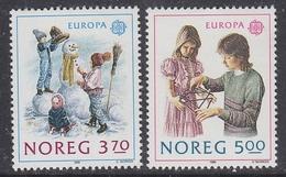Europa Cept 1989 Norway 2v ** Mnh (44029) - 1989