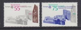 Europa Cept 1990 Netherlands 2v  ** Mnh (44029A) - 1990