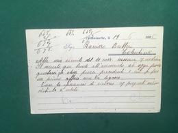 Cartolina C. Mantia - Caltanissetta - Importazione - Esportazione Cereali - 1925 - Cartoline