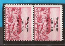 1941  18  FLUGPOST OVERPRINT -   MONTENEGRO 17-41,,, ,,,-ITALIA OCCUPAZIONE  MONTENEGRO CRNA GORA  MNH - Montenegro