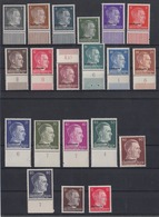 Ostland 1-20 Adolf Hitler Mit Bdr.-Aufdruck Meißt Mit Unterrand 20 Werte ** - Besetzungen 1938-45