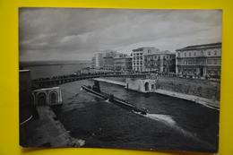Cartolina Taranto Il Nuovo Ponte Girevole 1940 - Taranto