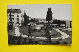 Cartolina Abbazia Fontana E Lungomare Savoia 1942 - Cartoline