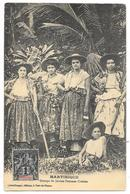 Cpa: MARTINIQUE. Groupe De Jeunes Femmes Créoles. Ed. Leboullanger, Fort De France - Martinique
