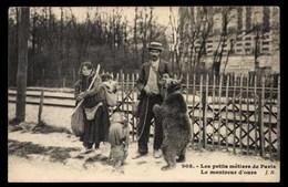 FRANCE, Paris, Les Petits Métiers Le Montreur D'ours (75) - Petits Métiers à Paris