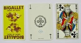JEU DE 32 CARTES SANS ETUI BIGALLET SIROPS DE FRUITS - Cartes à Jouer Classiques