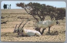 OM.- General Telecommunications Organization Sultanate Of Oman. Arabian Oryx - ANTILOPEN - 34OMNN410438 - Oman