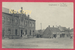Cruyshautem - Kruishoutem Belgique - Dorpplaats - Attelage à Chien /  Feldpost Krieg 1914-18 -  Inft. Regt. Nr 178 - Kruishoutem