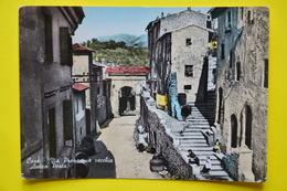 Cartolina Cave Via Prenestina Vecchia Antica Porta  1959 - Non Classificati