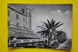 Cartolina Marina Di Massa Albergo Italia Viale A Mare 1958 - Massa