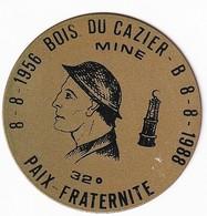 Charleroi, Bois Du Cazier, 32° Souvenir- Paix-Fraternité - 08-08-1956  - 08-08-1988 Accident MINE - Touristiques