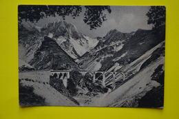 Cartolina Carrara Ponte Di Vara Cave 1958 - Massa