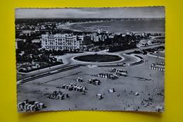 Cartolina Rimini Spiaggia Dall'Aerero 1955 - Rimini