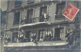 LE CHAMBON FEUGEROLLES - Carte Photo - Cercle De L' Union Républicaine  (973 ASO) - Le Chambon Feugerolles