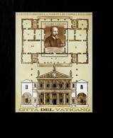 Città Del Vaticano 2008 V Centanario Della Nascita Di Andrea Palladio MNH** Foglietto - 6. 1946-.. Repubblica
