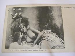 C.P.A.- Océanie - Fiji Fidji - An Island Belle - Jeune Femme - Seins Nus - 1909 - SUP (CF 23) - Fidschi