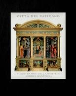 Città Del Vaticano 2006 V Centanario Della Morte Di Andrea Mantegna MNH** Foglietto - 6. 1946-.. Repubblica