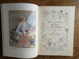 """""""JOSETTE Et Ses Poupées"""" De H.C.Cradock Ill H.C. Appleton      Nathan1937 - 1901-1940"""