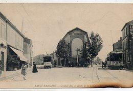 Saint Barnabe.....tramways...grande Rue.....atention   En L Etat  Voir  Scan Bas De La Carte A Droite - Autres Communes
