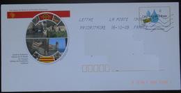 148/ Enveloppe Prêt à Poster PAP Eau Durable Ceci Est Un Trésor Canal De Narbonne Abbaye De Saint Martin Du Canigou Abba - Prêts-à-poster:  Autres (1995-...)