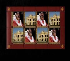Città Del Vaticano 2007 80° Genetliaco Di Sua Santità Benedetto XVI  MNH** Foglietto - 6. 1946-.. Repubblica
