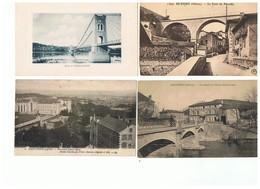 1932-712  5cp Vernaison-beaujeu-st Genis Laval-lozanne-camp De Sathonay Vente Fermée Le 24-08 - Other Municipalities