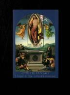 Città Del Vaticano 2005 La Pala Della Resurrezione Di Pietro Vannucci Il Perugino  MNH** Foglietto - 6. 1946-.. Repubblica