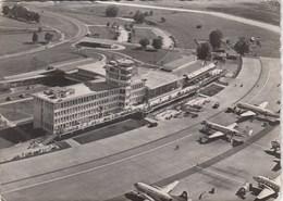 AEROPORTO-AEROPORT-AIRPORT-FLUGHAFEN-AERODROM-=ZURICH KLOTEN =-VIAGGIATA NEL 1958 - Aerodromi
