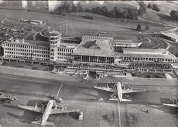 AEROPORTO-AEROPORT-AIRPORT-FLUGHAFEN-AERODROM-=ZURICH KLOTEN =-VIAGGIATA IL 20-7-1958 - Aerodromi