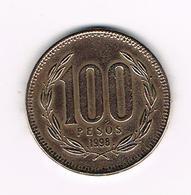 //  CHILI  100  PESO   1998 - Chile