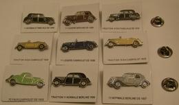 LOT De 9 PINS TRACTION CITROEN Pin Pin's Pins - Citroën