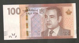 Maroc. Billet De 100 DH. SM Hassan II. Etat Bon. Numéros Se Suivant. 35-36-37 - Marruecos